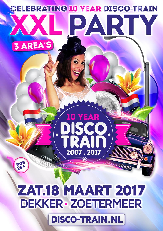 Disco-Train XXL